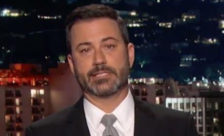 Jimmy Kimmel Tears Up