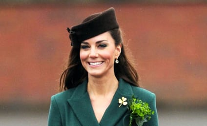 Kate Middleton Honors Irish Guards on St. Patrick's Day