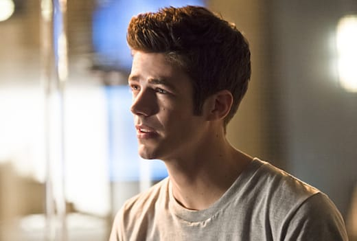 Concerned Barry Allen