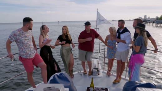Elizabeth Potthast Confronts Her Family on a Boat