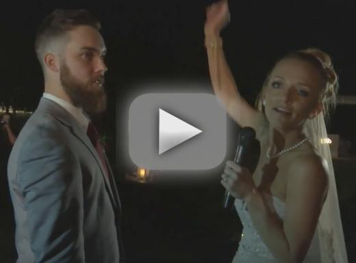 Maci bookout see her precious wedding with taylor mckinney