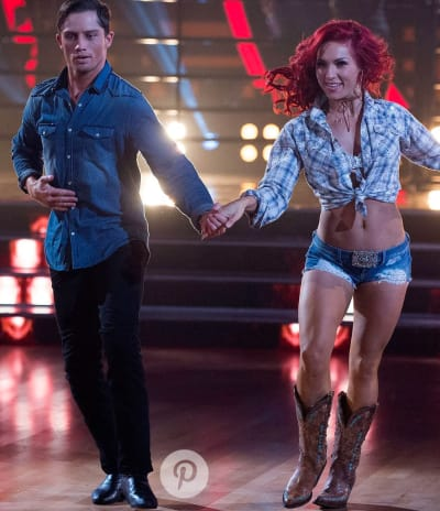 Sharna Burgess and Bonner Bolton Dance