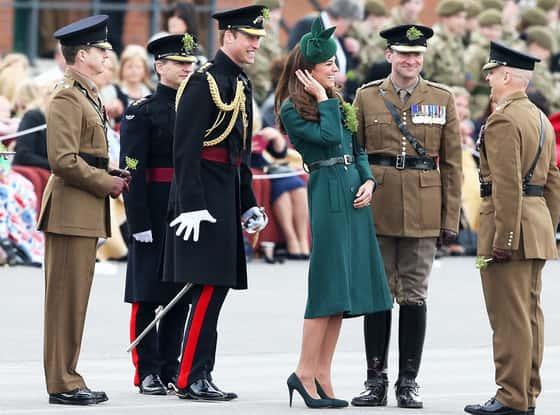 Kate Middleton, Prince William on St. Patrick's Day