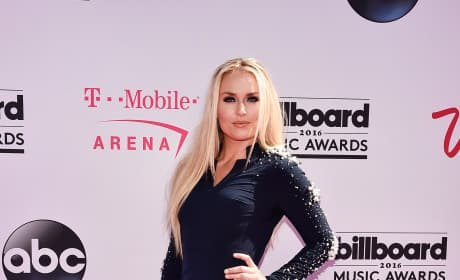 Lindsey Vonn at the Billboard Music Awards