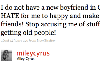 Miley Cyrus Lashes Out Against Non-Existent Rumors