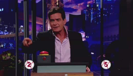 Charlie Sheen on The Tonight Show with Jay Leno