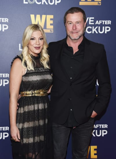 Dean McDermott with Wife