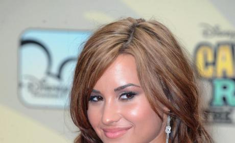 Lovato on the Red Carpet