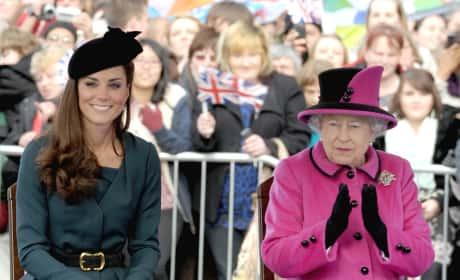 Kate Middleton, Queen Elizabeth II