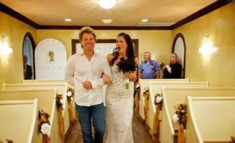 Bon Jovi Walks Bride Down the Aisle
