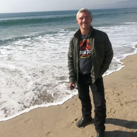 Matt Brown at the Beach
