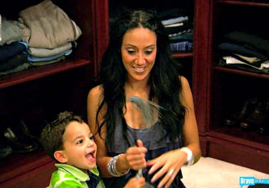 Melissa Gorga on The Real Housewives of New Jersey