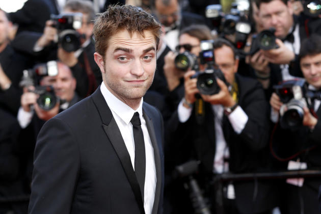 Smirk from Robert Pattinson
