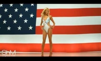 Candidate Paris Hilton Stumps For Votes