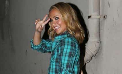 Hayden Panettiere Registers to Vote, Parties With Pals