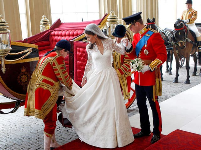 Kate Middleton's Alexander McQueen Gown