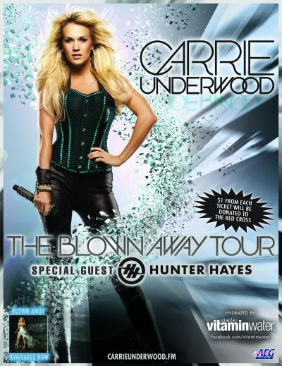 Carrie Underwood giveaway pic