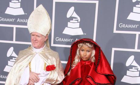 Nicki Minaj and The Pope?!?