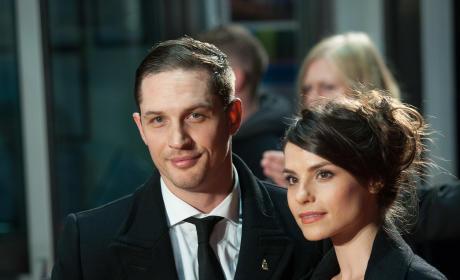 Tom Hardy and Charlotte Riley Photo