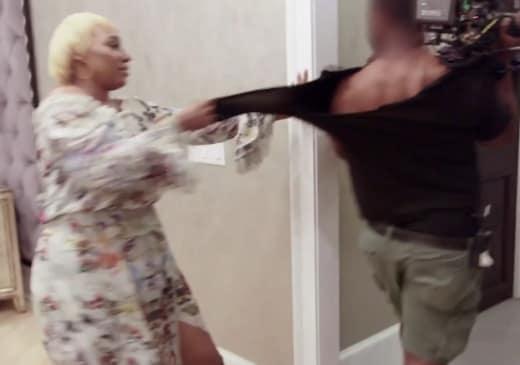 NeNe Leakes Pulls a Camera Person on RHOA