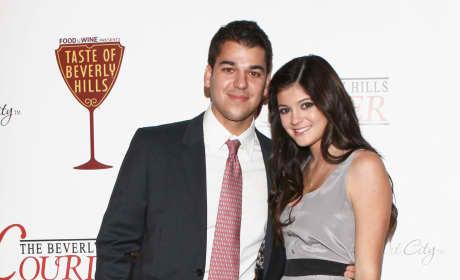 Rob Kardashian and Kylie Jenner: The Taste of Beverly Hills Festival