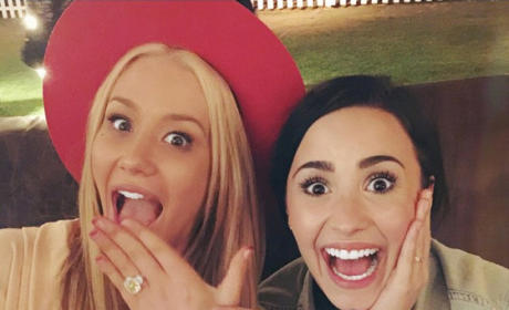 Iggy Azalea and Demi Lovato