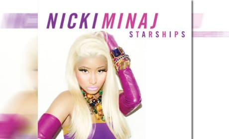 Nicki Minaj Single Art