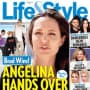 Angelina Jolie Tabloid Cover