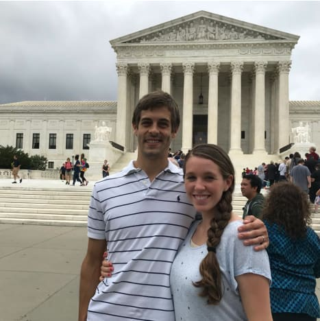 Derick Dillard and Jill Duggar in DC