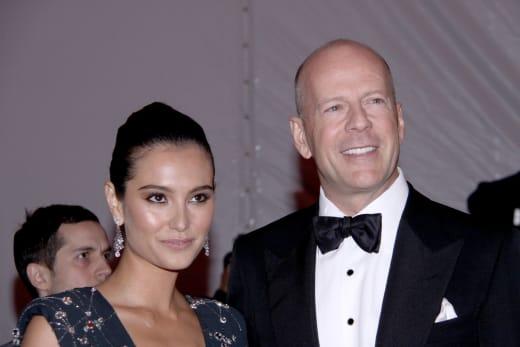 Emma Hemming and Bruce Willis Photo