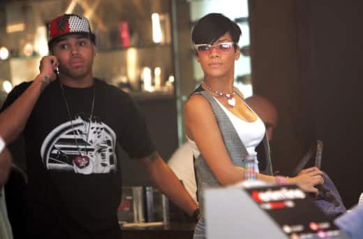 A Rihanna and Chris Brown Picture
