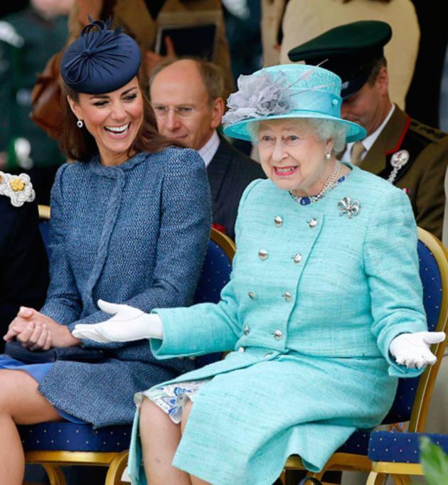 Kate Middleton, Queen Elizabeth Too
