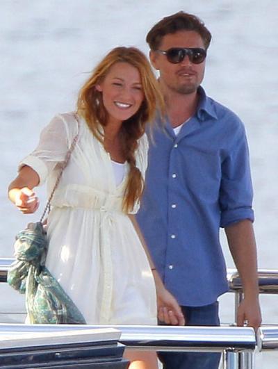 Blake Lively, Leonardo DiCaprio Pic