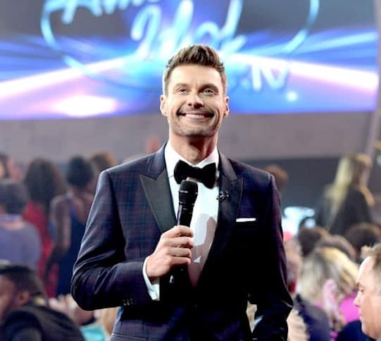 Ryan seacrest on final idol