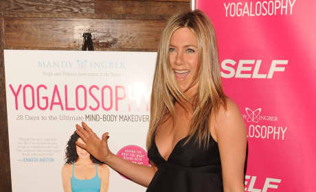 Jennifer Aniston Babydoll Dress