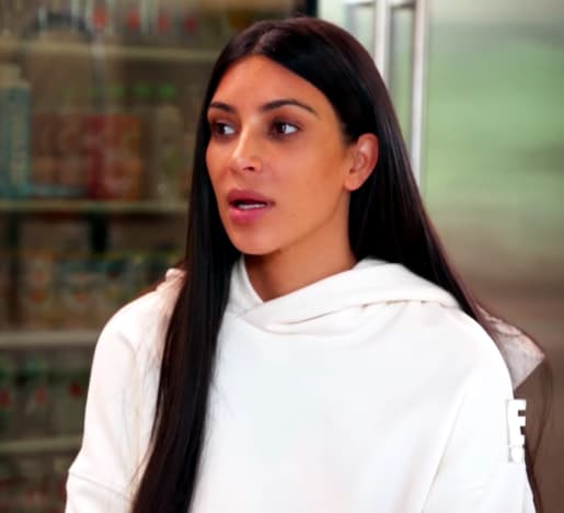 Kim Kardashian Gets Emotional
