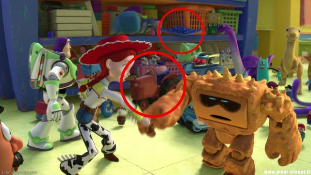 Toy Story / Cars (Again!)