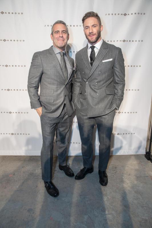 Andy Cohen & Julian Edelman: Joseph Aboud Fashion Show
