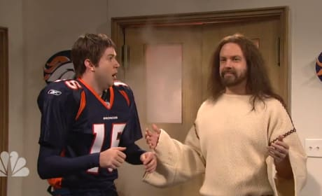 Tim Tebow Meets Jesus