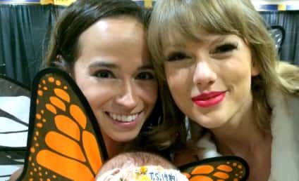 "Taylor Swift Meets Baby Who Danced to ""Blank Space"" in Womb"