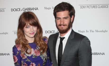 Emma Stone and Andrew Garfield Together