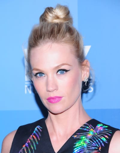 January Jones Close-Up