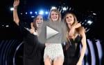 Taylor Swift Invites Mariska Hargitay and Cara Delevingne on Stage