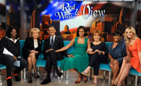 Obamas Visit The View