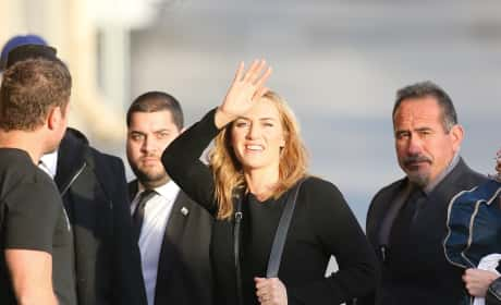 Kate Winslet Films an Appearance on 'Jimmy Kimmel Live!'