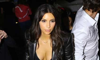 Kim Kardashian: Spending Money, Showing Cleavage