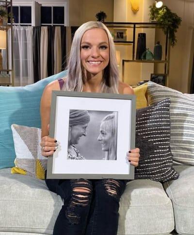 Mackenzie McKee and Photo of Mom
