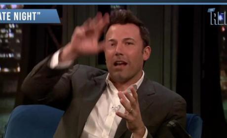 Ben Affleck Reacts to Batman Bashing