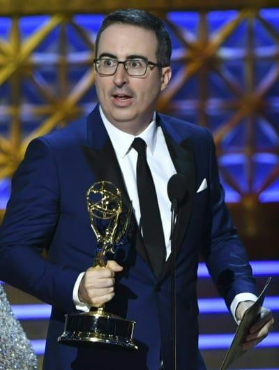 John Oliver Wins an Emmy