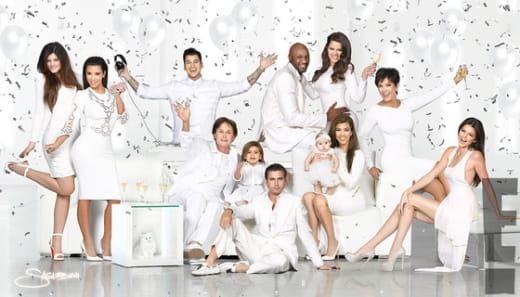 Kardashian Christmas Card, 2012